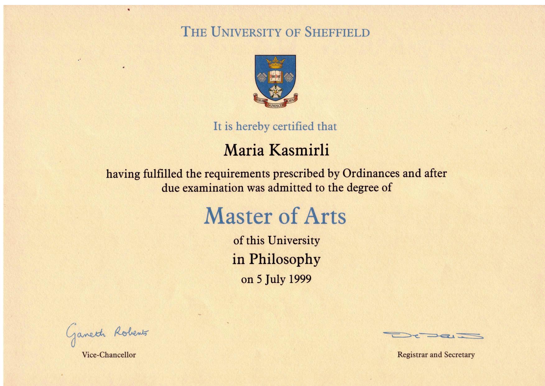 certificate ma filename mk